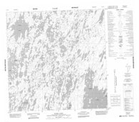 065D07 Barr Lake Canadian topographic map, 1:50,000 scale
