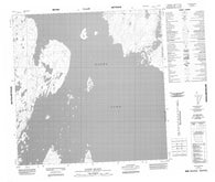 065D08 Gothe Island Canadian topographic map, 1:50,000 scale