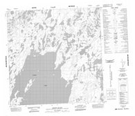 065D09 Simons Island Canadian topographic map, 1:50,000 scale