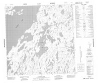 065D10 Latimer Lake Canadian topographic map, 1:50,000 scale
