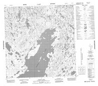 065D15 Kakoot Lake Canadian topographic map, 1:50,000 scale