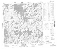 065E01 Mallet Lake Canadian topographic map, 1:50,000 scale