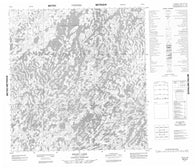 065E05 Dolby Lake Canadian topographic map, 1:50,000 scale
