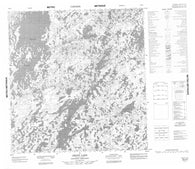 065E06 Arnot Lake Canadian topographic map, 1:50,000 scale