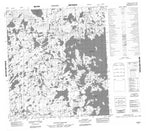 065M01 No Title Canadian topographic map, 1:50,000 scale from Northwest Territories Map Store