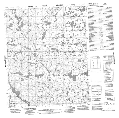 066H16 No Title Canadian topographic map, 1:50,000 scale