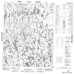 066K09 No Title Canadian topographic map, 1:50,000 scale from Nunavut Map Store