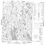 066K10 No Title Canadian topographic map, 1:50,000 scale from Nunavut Map Store