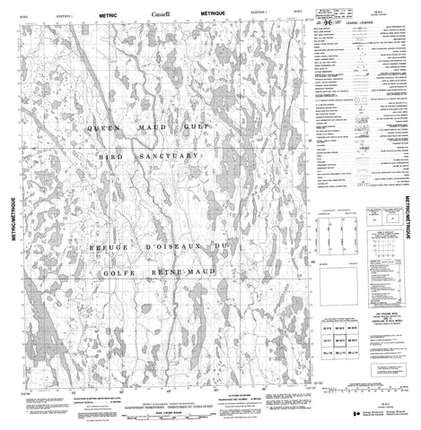 066M04 No Title Canadian topographic map, 1:50,000 scale