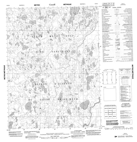 066M12 No Title Canadian topographic map, 1:50,000 scale