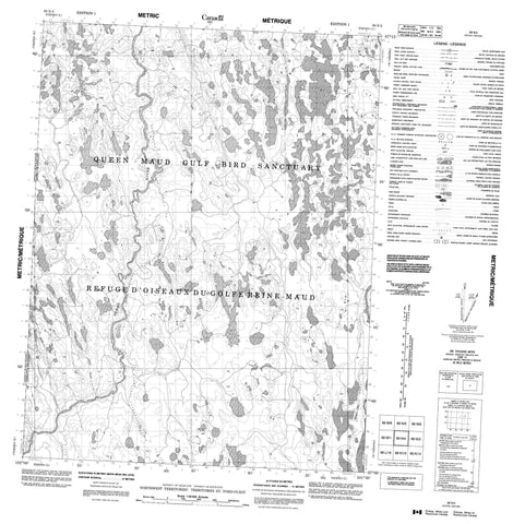 066N04 No Title Canadian topographic map, 1:50,000 scale