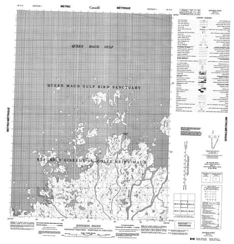 066N15 Johnson Point Canadian topographic map, 1:50,000 scale