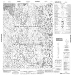 066O10 No Title Canadian topographic map, 1:50,000 scale from Nunavut Map Store
