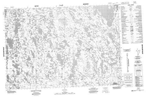 067C03 No Title Canadian topographic map, 1:50,000 scale
