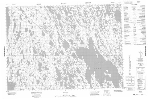 067C13 No Title Canadian topographic map, 1:50,000 scale