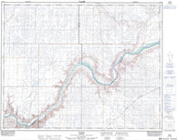 072L14 Howie Canadian topographic map, 1:50,000 scale