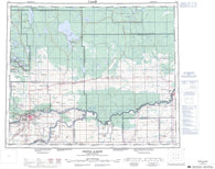 073H Prince Albert Canadian topographic map, 1:250,000 scale