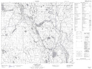 073I02 Summit Lake Canadian topographic map, 1:50,000 scale from Saskatchewan Map Store