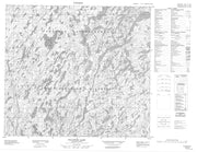 074A05 Pylypow Lake Canadian topographic map, 1:50,000 scale from Saskatchewan Map Store