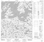 076D14 Yamba Lake Canadian topographic map, 1:50,000 scale from Northwest Territories Map Store