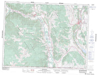 082E04 Keremeos Canadian topographic map, 1:50,000 scale