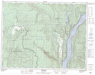 082E16 Edgewood Canadian topographic map, 1:50,000 scale