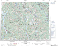 082K Lardeau Canadian topographic map, 1:250,000 scale