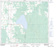 083N02 Snipe Lake Canadian topographic map, 1:50,000 scale from Alberta Map Store