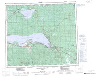 083O Lesser Slave Lake Canadian topographic map, 1:250,000 scale