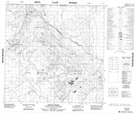 084P16 Brine Creek Canadian topographic map, 1:50,000 scale
