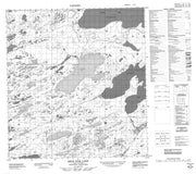 085J05 Bras D Or Lake Canadian topographic map, 1:50,000 scale from Northwest Territories Map Store