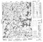 086G11 Scotstoun Lake Canadian topographic map, 1:50,000 scale from Northwest Territories Map Store
