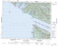092C Cape Flattery Canadian topographic map, 1:250,000 scale