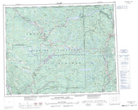 092P Bonaparte Lake Canadian topographic map, 1:250,000 scale