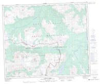 093I01 Jarvis Lakes Canadian topographic map, 1:50,000 scale