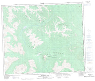 093I08 Belcourt Lake Canadian topographic map, 1:50,000 scale