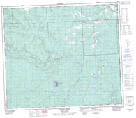 093P08 Tupper Creek Canadian topographic map, 1:50,000 scale