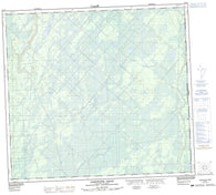 094H01 Adskwatim Creek Canadian topographic map, 1:50,000 scale