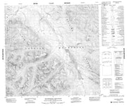 094L12 Sharktooth Mountain Canadian topographic map, 1:50,000 scale from British Columbia Map Store