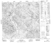 094L13 Moodie Lakes Canadian topographic map, 1:50,000 scale from British Columbia Map Store