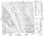 094L14 Moodie Creek Canadian topographic map, 1:50,000 scale from British Columbia Map Store