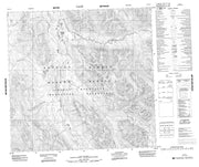 094L15 No Title Canadian topographic map, 1:50,000 scale from British Columbia Map Store