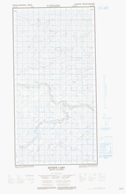 094P13W Estsine Lake Canadian topographic map, 1:50,000 scale from British Columbia Map Store
