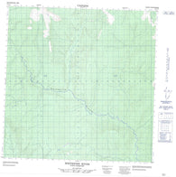 095C11 Whitefish River Canadian topographic map, 1:50,000 scale
