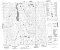 095D01 No Title Canadian topographic map, 1:50,000 scale
