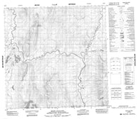 095D03 Mount Gilliland Canadian topographic map, 1:50,000 scale
