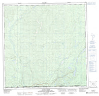 095D04 Irons Creek Canadian topographic map, 1:50,000 scale