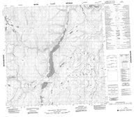 095D08 No Title Canadian topographic map, 1:50,000 scale