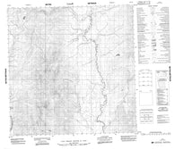 095D11 No Title Canadian topographic map, 1:50,000 scale