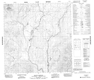 095D13 Mount Kostiuk Canadian topographic map, 1:50,000 scale